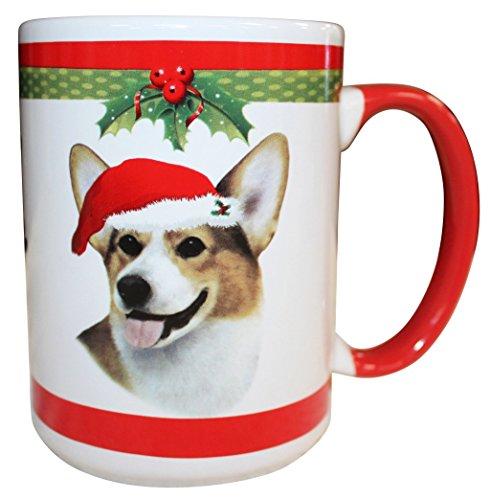 E&S Pets Welsh Corgi Mug, 15 oz