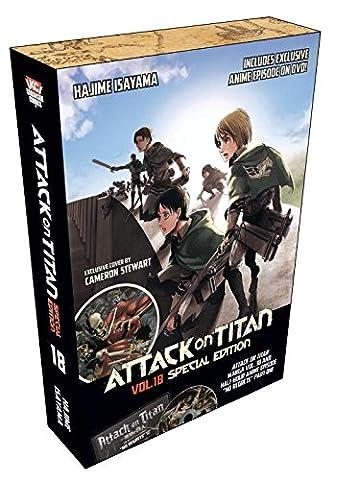 Attack on Titan 18 Special Edition w/DVD (Attack In Titan Dvd)