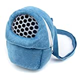 Alfie Pet by Petoga Couture - Ricki Travel Carrier Vacation House for Small Animals like Dwarf Hamster and Mouse - Color: Blue, Size: Small