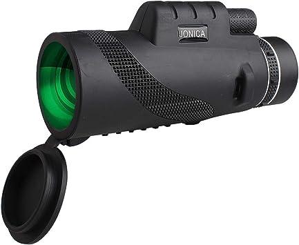 Wingspan Optics Explorer High Powered 12X50 Monocular Bright and Clear Single