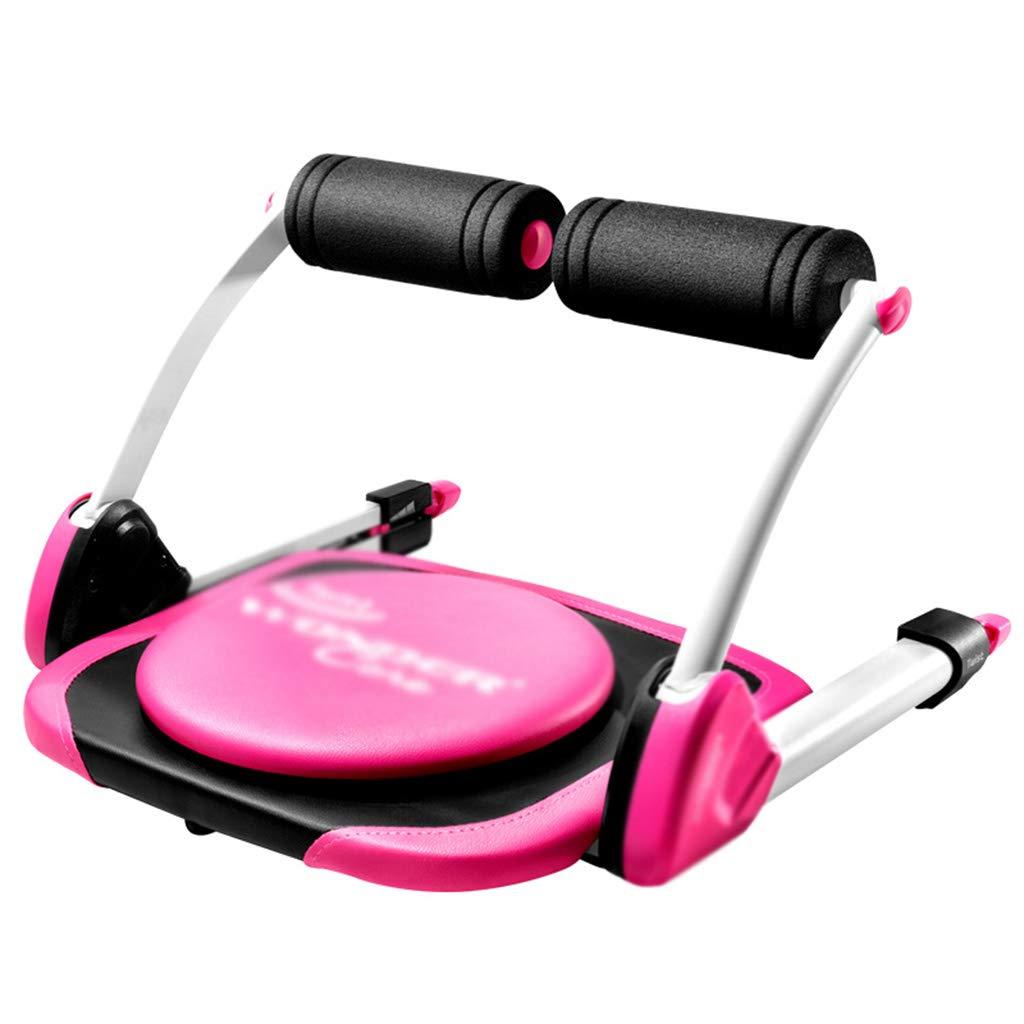 ピンク腹部腹部補助多機能仰臥位運動エクササイズ機器ホーム腹部折りたたみ収縮、ミニセーブスペース (Color : Pink, Size : 56 * 56 * 35cm) 56*56*35cm Pink B07GXGKGTZ