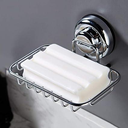 Caja de jabón titular de la caja Super potente ventosa de ...