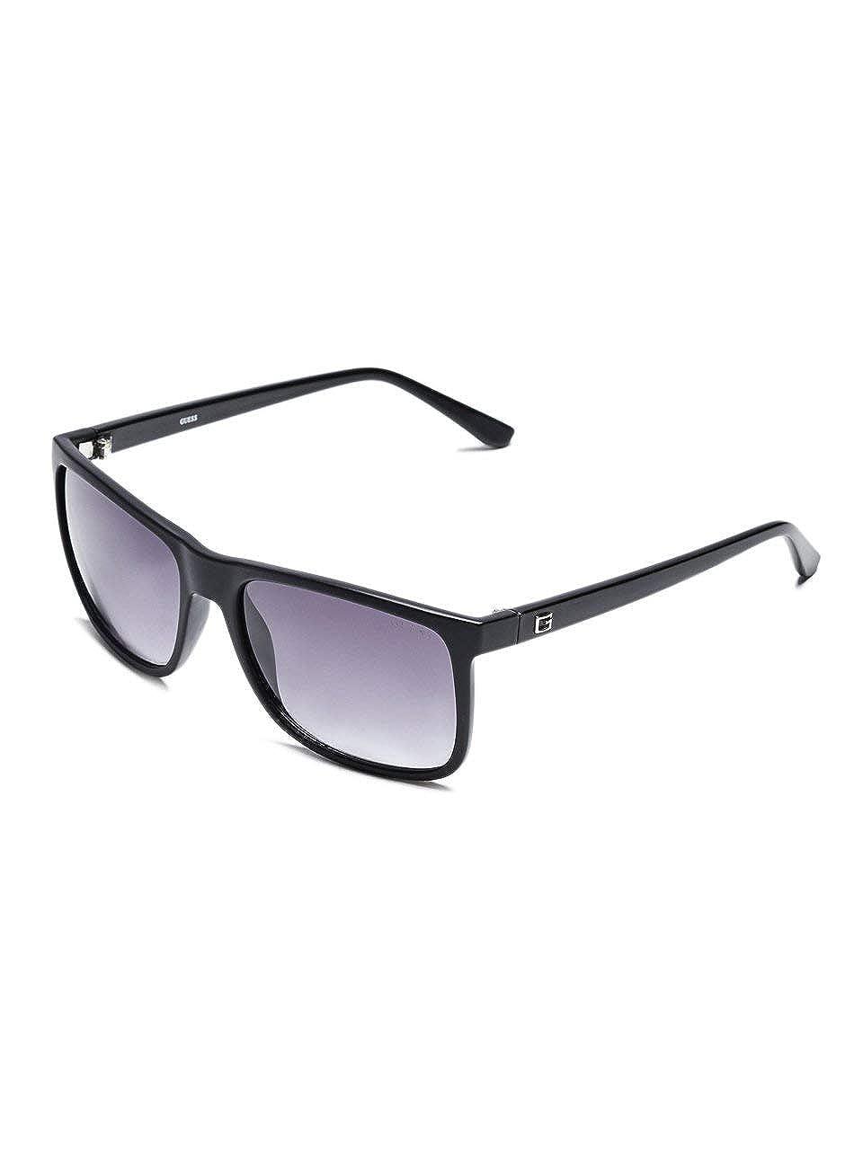GUESS Factory Mens Matte Plastic Square Sunglasses
