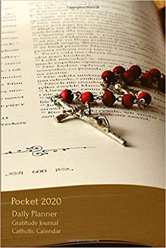 Gratitude Calendar December 2020 Pocket 2020 Daily Planner Gratitude Journal Catholic Calendar