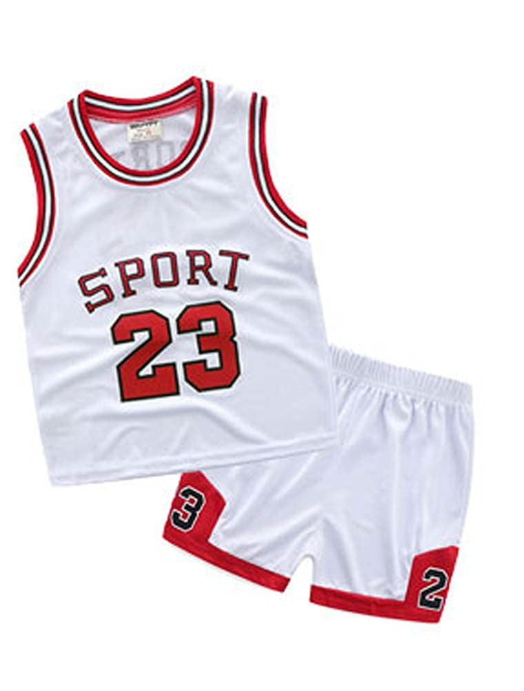 Short Pants Clothes Set for 1-7 Years ARAUS Sportswear Tracksuits Kids Girl Boy Basketball Sports Vest Top