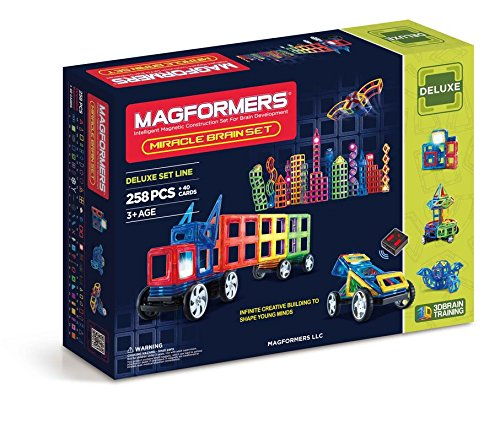 Magformers Deluxe Miracle Brain 258 pieces