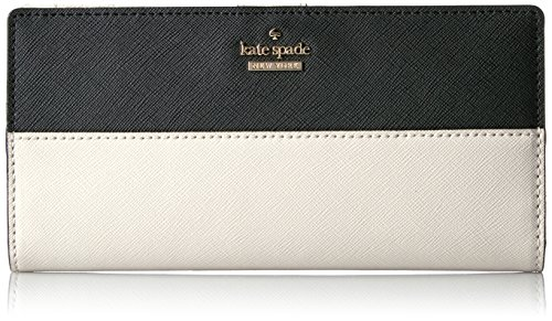 Cameron Street Large Stacy Wallet, Black/Pebble, One Size