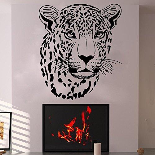 Cheetah Wall Decal Wild Animal Sticker Vinyl Bedroom Nursery Home Leopard Gepard Jungle African Ethnic Decor Art Mural SM129