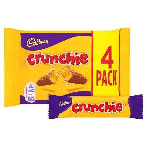 Cadbury Crunchie Chocolate 104 4g British