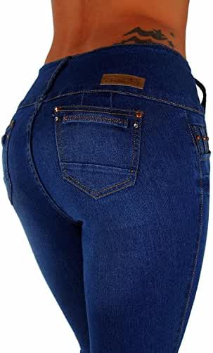 Style G339– Colombian Design, High Waist, Butt Lift, Levanta Cola, Skinny Jeans