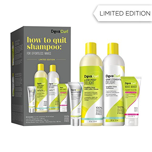 DevaCurl How To Quit Shampoo Kit for Effortless Waves
