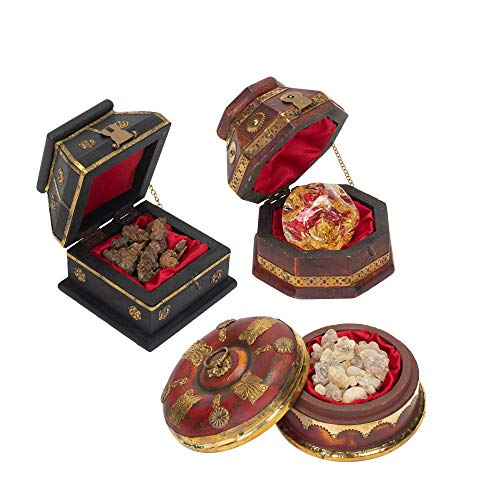 Three Kings Gifts The Original Gifts of Christmas 3 Box Set Deluxe Gold Frankincense & -