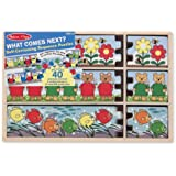 Melissa & Doug What Comes Next? Self-Correcting Sequence Puzzles