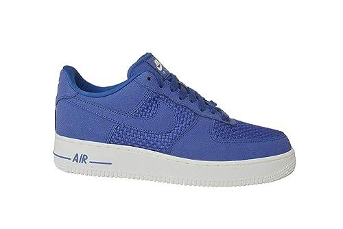 official photos c95e5 c6ef3 Nike Mens - Air Force 1 Lo - BNIB, No lid - Blue White -