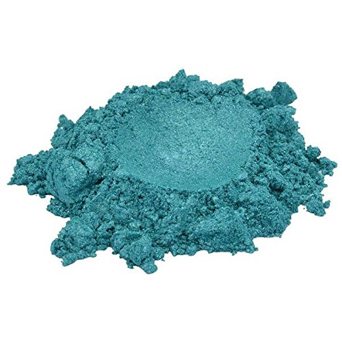 Coral Reef Blue / Green / Turquoise Luxury Mica Colorant Pigment Powder Cosmetic Grade Glitter Eyeshadow Effects for Soap Candle Nail Polish 1 oz, 30 g H&B Oils Center Co. 4336900843