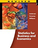 Bundle: Statistics for Business and Economics, Revised + Aplia 2-Semester Printed Access Card, Revised, David R. Anderson, Dennis J. Sweeney, Thomas A. Williams, 1133263712