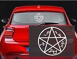 Supernatural Devils Trap Symbol Sigil Vinyl Decal Sticker Pentagram (23