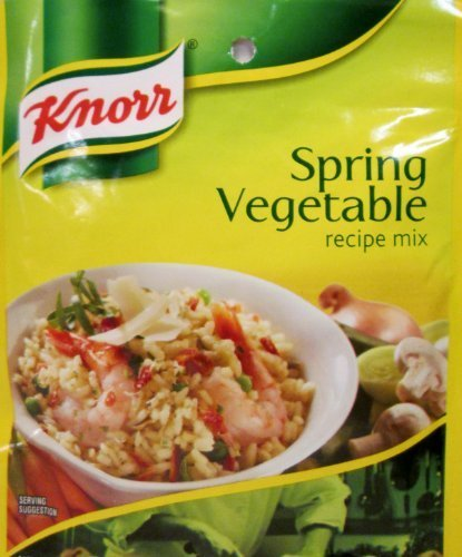 (Knorr Spring Vegetable Recipe Mix (Pack of 3) .9 oz Packets by Knorr )