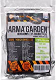 20,300 Heirloom Vegetable Seeds - Non-GMO, Non-Hybrid, Open Pollinated Seeds to Grow 32 Variety of America Heritage Vegetables - Essential Survival Food for Off-the-Grid Preppers Garden