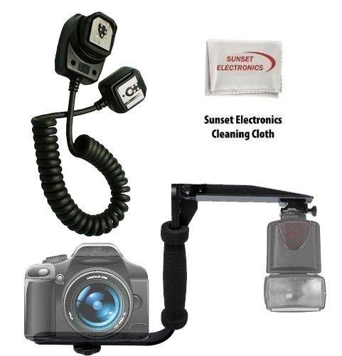 UPC 084686326524, Professional Horizontal & Vertical 180 Degree Flash Bracket with Nikon Sc-28 Replacement Off Camera Ttl Flash Cord for the Nikon P500, P7000, D2x, D2xs, D1x, D2h, D2hs, D1h, D1, D3, D3x D3000 D3100 D5000 D5100 D7000 D700 D700s F100, F90, F90x, F80, F75, F70, F6, F5, F4-series, N8008, N8008s