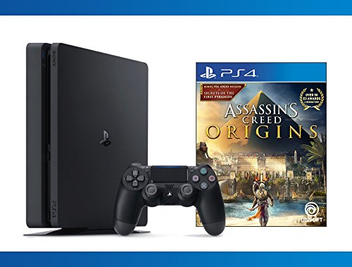 Playstation 4 Slim 1Tb Console   Assassins Creed Origins Bundle   2   Items