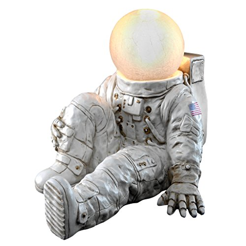 - Design Toscano Astronaut at Ease Lighted Sculpture