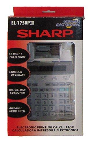 SHARP Sharp EL 1750PIII Printing Calculator