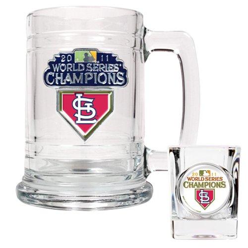 (MLB 2011 World Series Champions Tankard/Shot Glass Set)