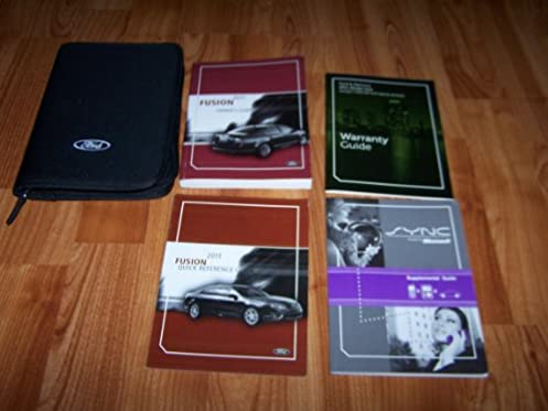 2011 ford fusion owners manual ford motor company amazon com books rh amazon com 2011 ford fusion manual transmission 2011 ford fusion service manual