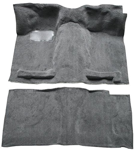 Truck Standard Cab Carpet - ACC 1987 to 1997 Nissan Standard Cab Pickup Truck Carpet Custom Molded Replacement Kit (8078-Dark Grey Plush Cut Pile)