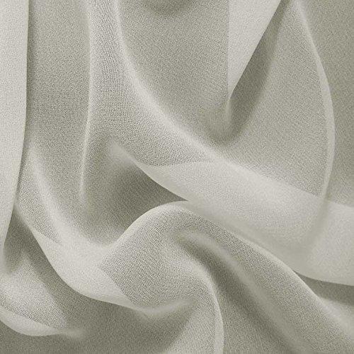 abric (Ivory Silk Chiffon)