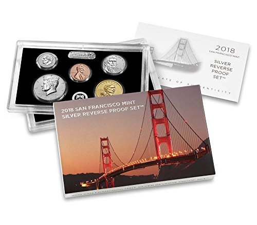 2018 S US Mint Silver Reverse Proof Set