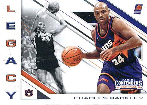 Amazon.com  2018-19 Panini Contenders Draft Picks Legacy  4 Charles Barkley  Auburn Tigers Phoenix Suns Basketball Card  Collectibles   Fine Art 74fc5857d
