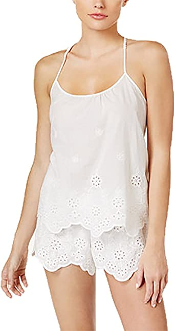 Embroidered Cotton Short Set