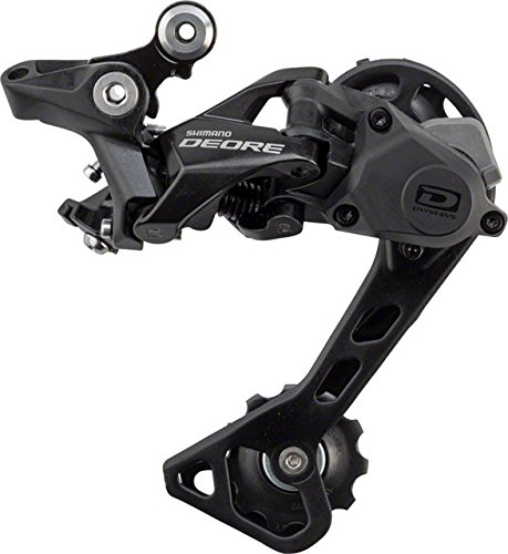 SHIMANO Deore Mountain Bicycle Rear Derailleur - RD-M6000 (Black - GS)