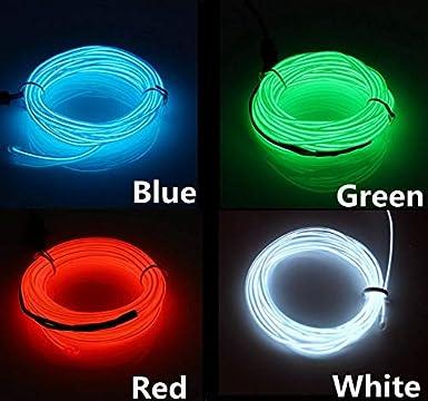 christbaumschmuck BLUE, 5M SOUTHSKY el draht 5m neonr/öhren wasserdicht f/ührte indoor//outdoor