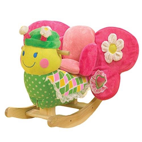 Butterfly Rocking Horse (Bonita Butterfly Rocker, Kids Rocker)