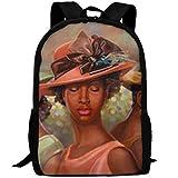 YOYUPRO School Bag Oxford Book Bag School Backpacks For Boys Girls, African American Church