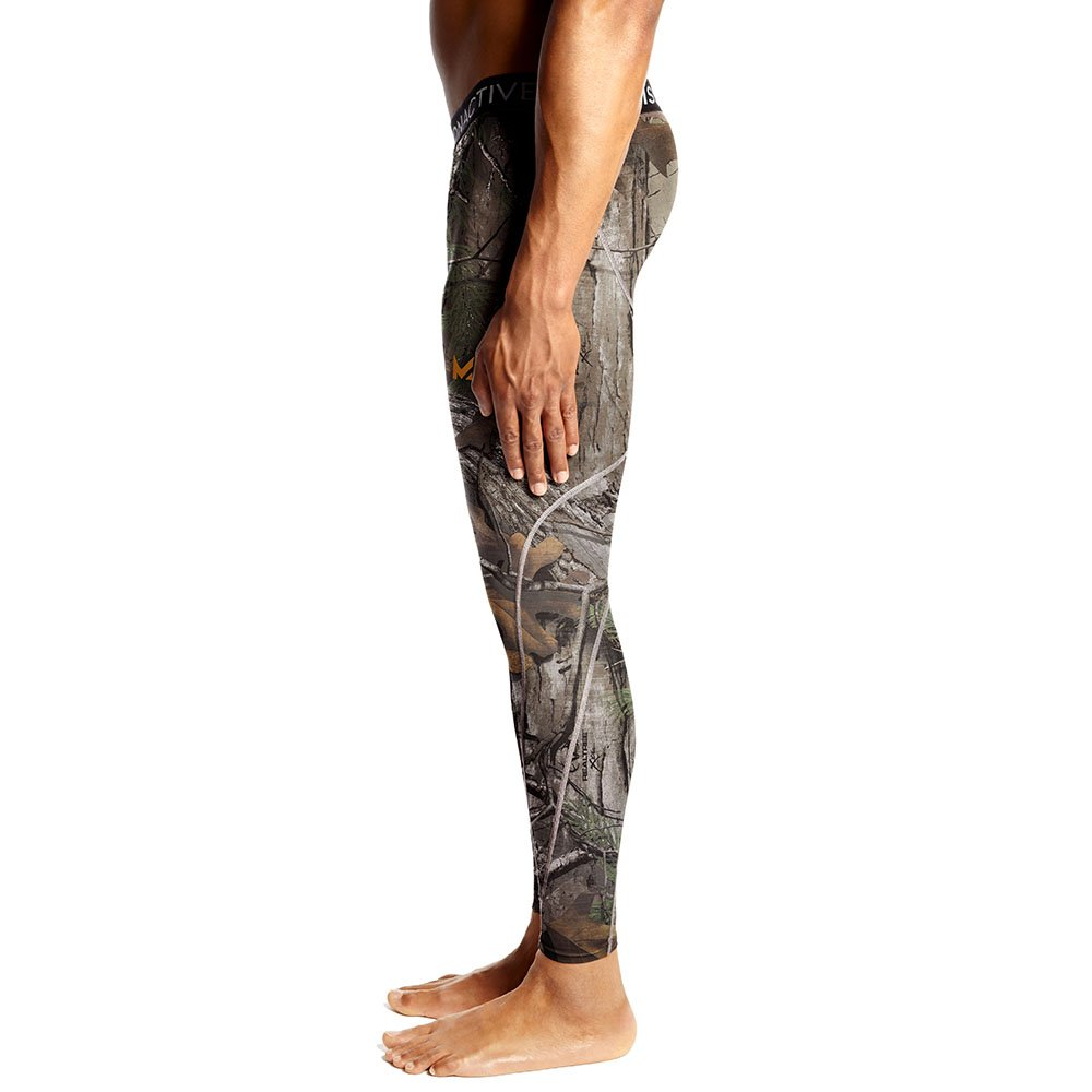 Mission Mens VaporActive Base Layer Tights XX-Large Mission Athlete Care 140008-P-OIH Real Tree