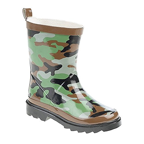 Stormwell Childrens/Kids Camouflage Print Rain Boots (11 US) (Green/Brown/Black) by Stormwell (Image #1)