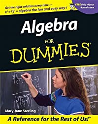 Image of the product Algebra for Dummies that is listed on the catalogue brand of Brand: For Dummies.