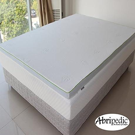 Abripedic 2 5 Gel Memory Foam Mattress Topper Pad Twin Extra Long