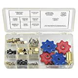 Robinair 18576 Replacement Parts Kit for R-134a Manifold Gauges and Hoses