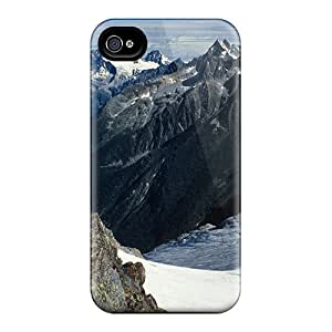 New Style Charejen Illecillewaet Glacier British Columbia Premium Tpu Cover Case For Iphone 4/4s