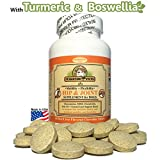 Makondo Pets Hip and Joint Supplement with Glucosamine for Dogs, Turmeric, Chondroitin, MSM, Vitamins, Fish Oil and Natural Boswellia - Get the Best Joint Supplement for Dogs - 60 Flavored Tablets