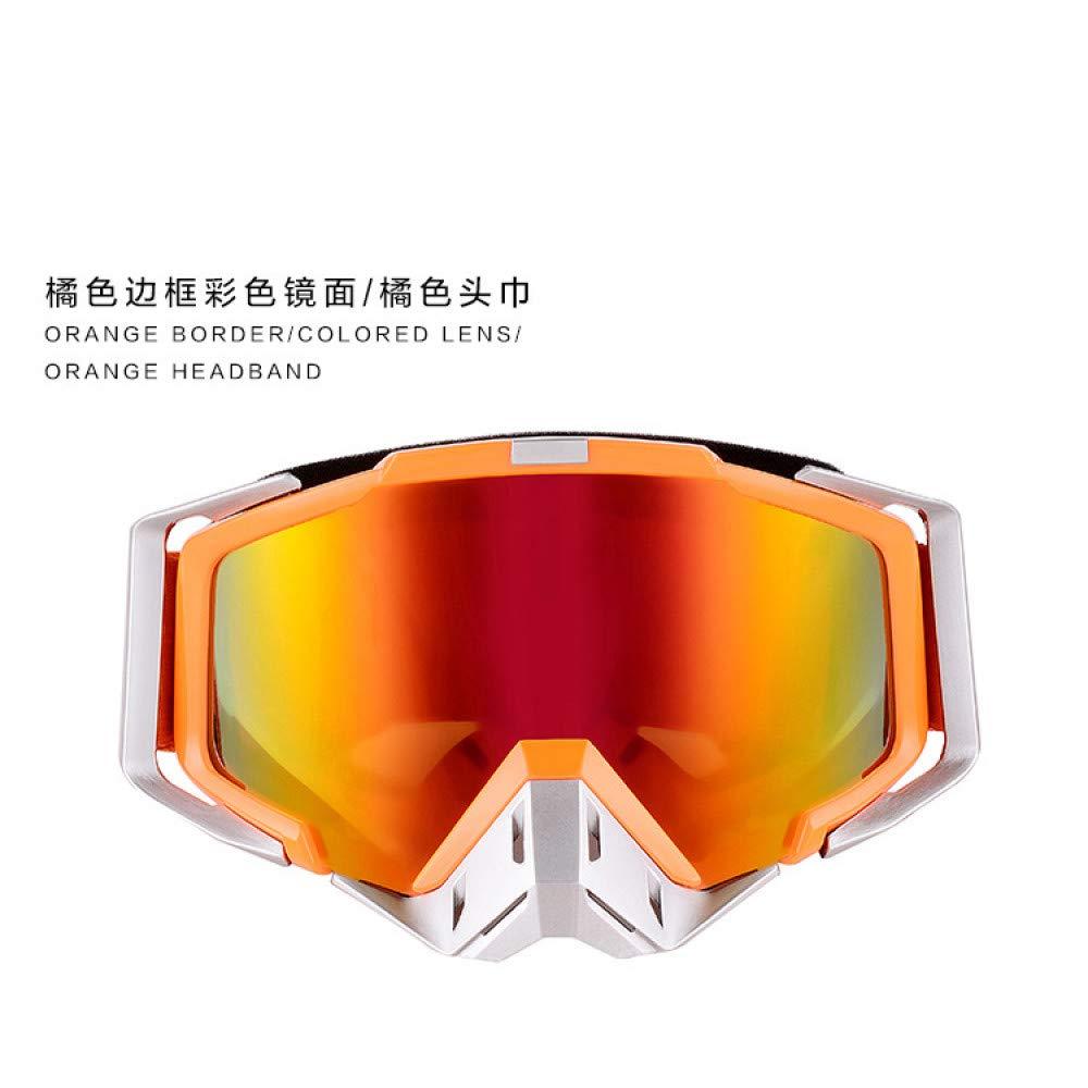 LOLIVEVE Im Freienreitende Ski-Schutzbrillen Schutzbrillen Motorrad-Windschutzscheiben-Spiegel Stoßfeste Taktische Gläser