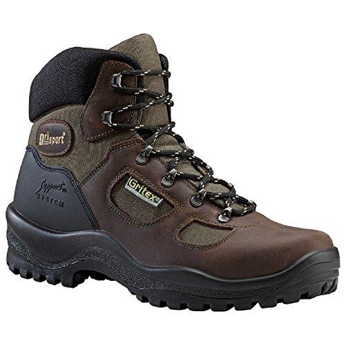Grisport GRS626–39Hilltop stivali in pelle resistente all' acqua, taglia: 39, marrone (confezione da 2)