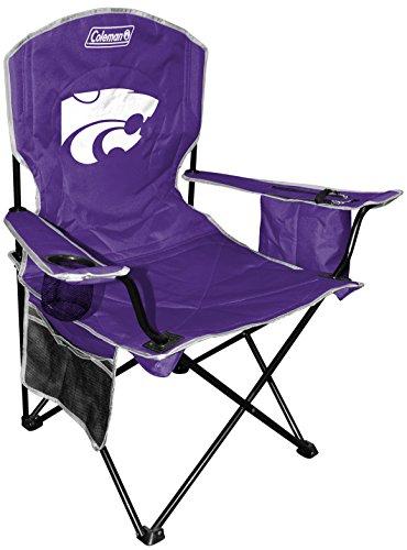 NCAA Kansas State Wildcats Cooler Quad Chair, Blue, X-Large