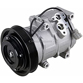 AC Compressor & A/C Clutch For Acura MDX TL & Honda Accord Odyssey Ridgeline - BuyAutoParts 60-01714NA NEW