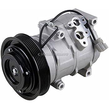 AC Compressor & A/C Clutch For Acura MDX TL & Honda Accord Odyssey Ridgeline - BuyAutoParts 60-01714NA NEW